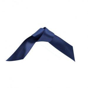 25m Dark Blue Satin Ribbon -  15mm & 25mm