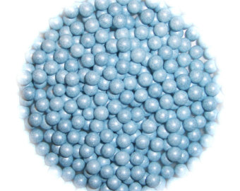 50g 4mm Blue Edible Sugar Balls