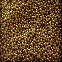 50g 4mm Gold Edible Metallic Sugar Balls