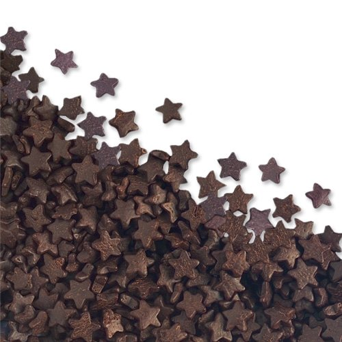 50g Chocolate Edible Stars