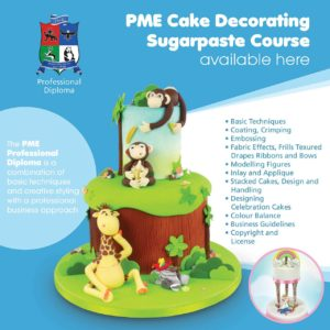 PME Sugarpaste Diploma Course