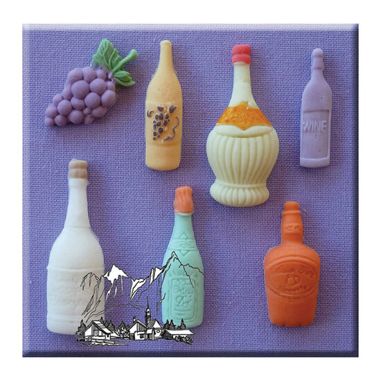 Assorted Bottle Mould By Alphabet Moulds