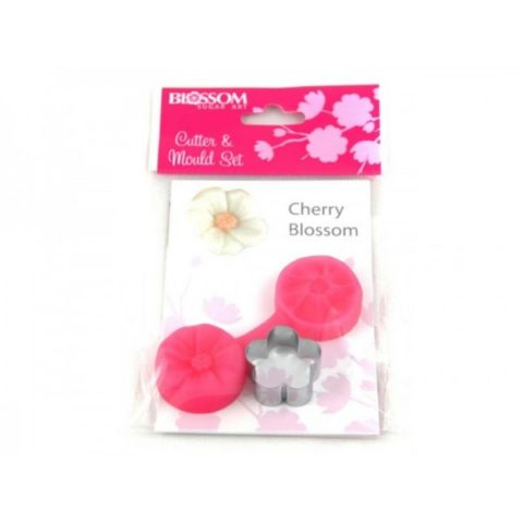 Blossom Sugar Art Cherry Blossom Mould & Cutter
