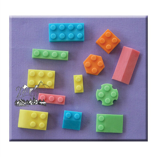 Building Block Mould By Alphabet Moulds