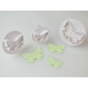 Cake Star Butterfly Plunger Cutter - Set of 3