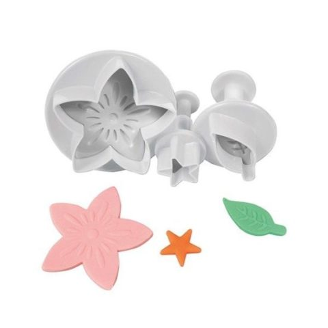 FMM Exotic Lily 4 Piece Set of Cutters and Embossers