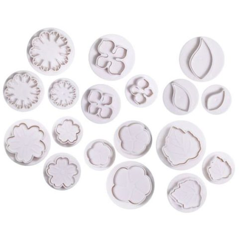 Cake Star Plunger Cutters - Set of 6