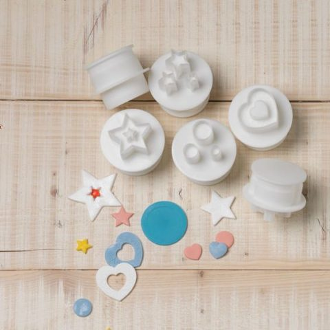 Cake Star Push Easy Cutters - Shapes 6