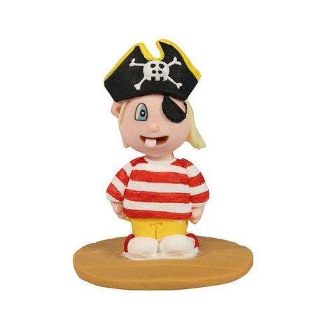 Cakestar Pirate Boy Birthday Cake Topper