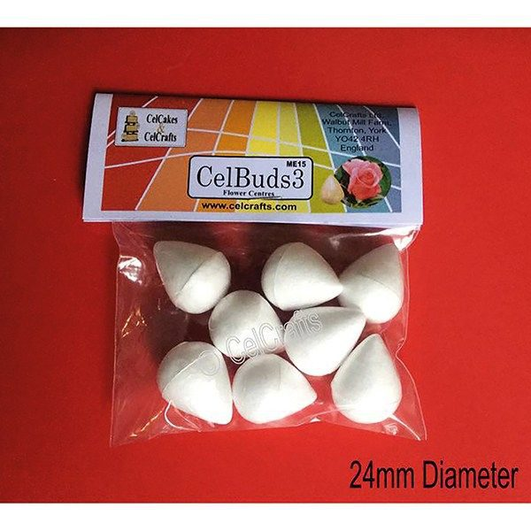 CelCakes Bud Cones - 24mm - Pack of 8