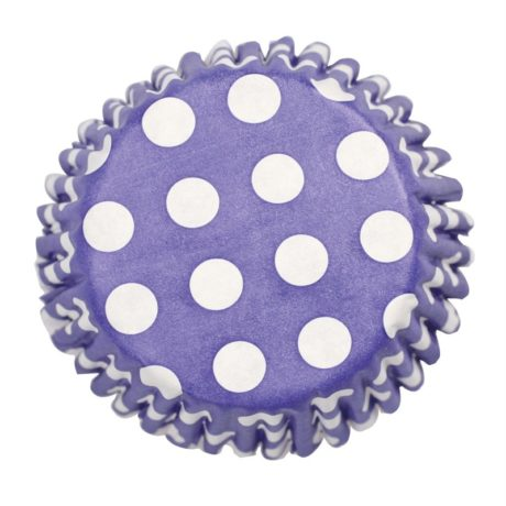 Culpitt 54 x Navy Blue Polka Dot Cupcake Cases