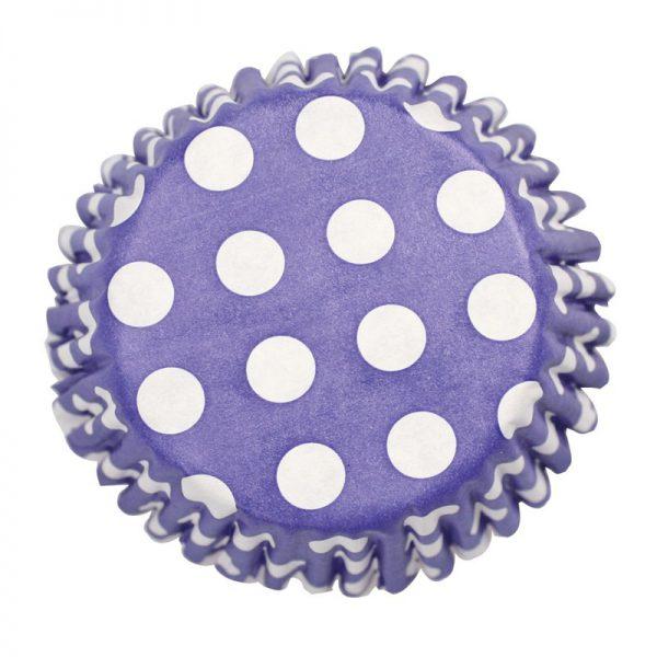 Culpitt 54 x Navy Blue Polka Dot Cupcake Cases