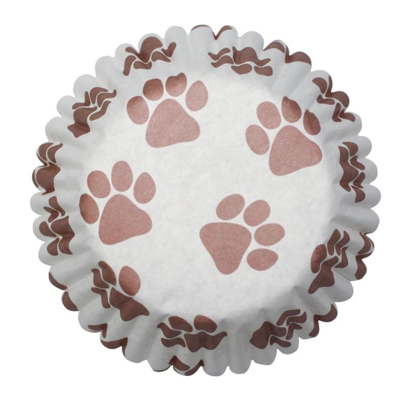 Culpitt 54 x Paw Print Cupcake Cases