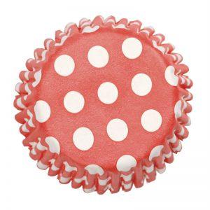 Culpitt 54 x Red Polka Dot Cupcake Cases