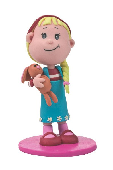 Culpitt Little Girl Birthday Cake Topper