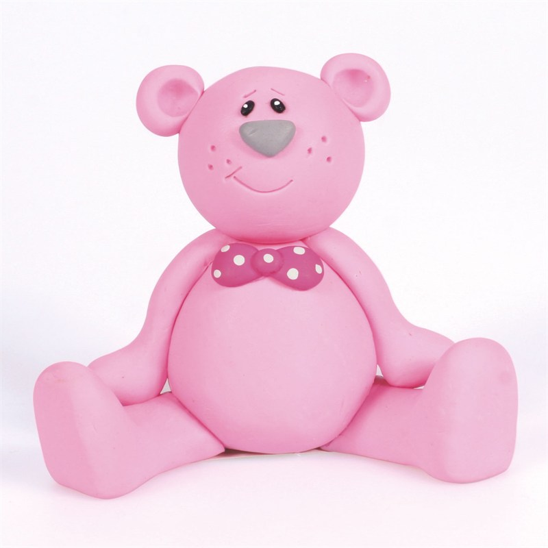 Culpitt Pink Ted Birthday Cake Topper