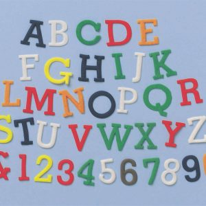FMM Block Uppercase & Number Tappits