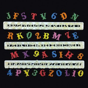 FMM - Carnival Font Alphabet Tappit