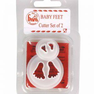 FMM Cutter Baby Feet 2 Set