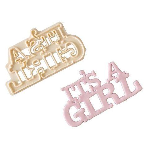 FMM Cutter - It's a Girl
