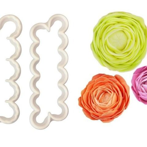 FMM Easiest Ever Ranunculus Cutter - Set of 2