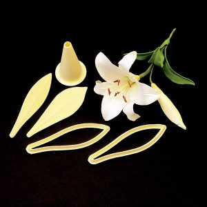 FMM Exotic Lily Set of 2 Cutters