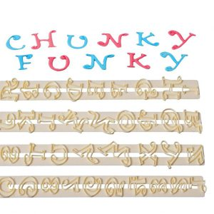 FMM - Funky Chunky Alphabet & Number Cutter