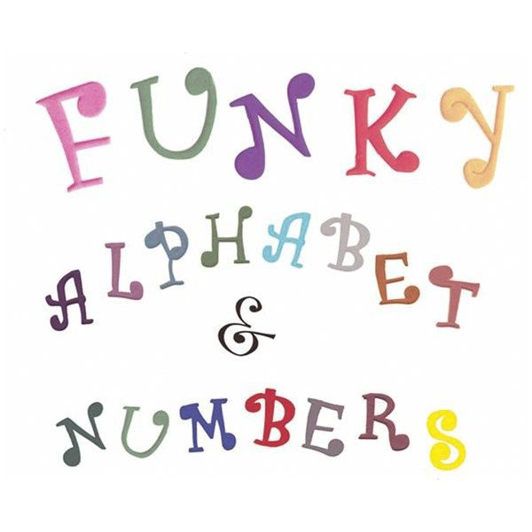 FMM Funky Uppercase & Number Tappits