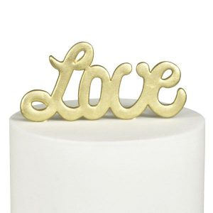 FMM 'Love' Large Cutter - Curved Words
