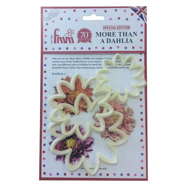 FMM-MORE THAN A DAHLIA CUTTER - 3 SET
