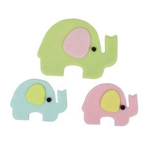 FMM Mummy & Baby Elephant Cutter