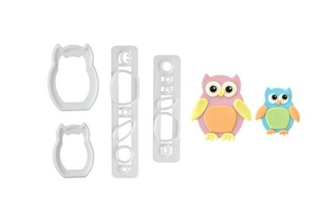 FMM Mummy & Baby Owl Cutter Set