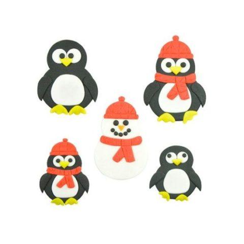 FMM Mummy & Baby Penguin Cutter Set
