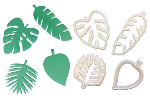 FMM Totally Tropical Foliage Cutters - 4 set