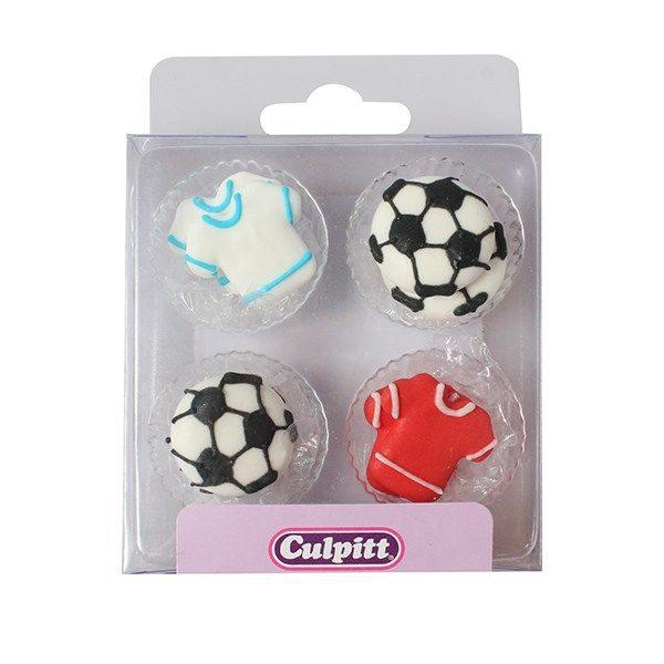 Football & Shirt Sugar Pipings