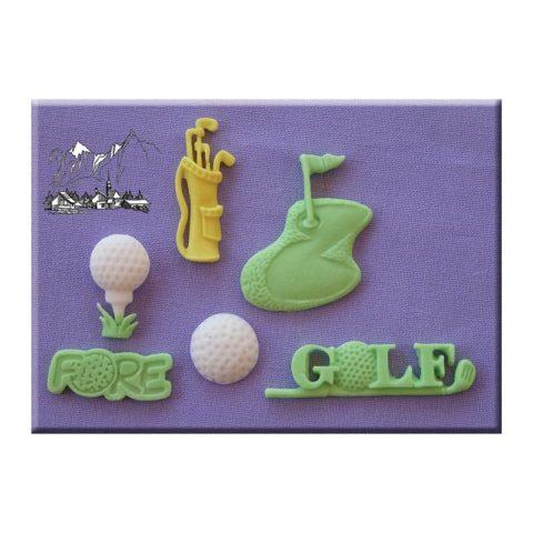 Golf Mould By Alphabet Moulds