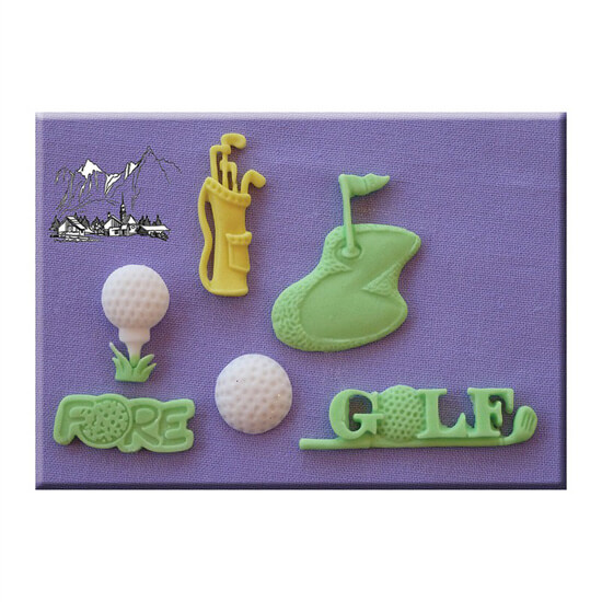 Golf Mould By Alphabet Moulds