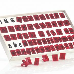 JEM Alphabet cutters - Set of 64
