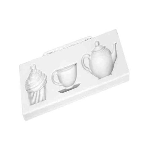 Katy Sue Afternoon Tea Silicone Mould
