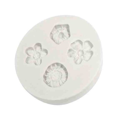 Katy Sue Bow Trio Silicone Mould