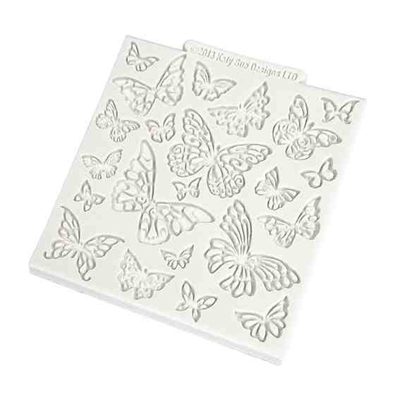 Katy Sue Butterfly Silicone Impression Mat