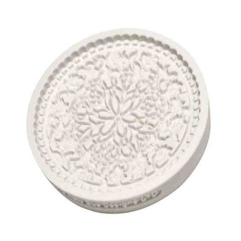 Katy Sue Floral Lace Silicone Mould