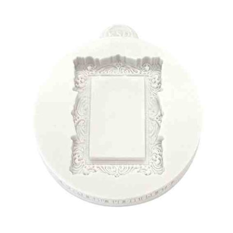 Katy Sue Miniature Frames Vintage Rectangle Silicone Mould