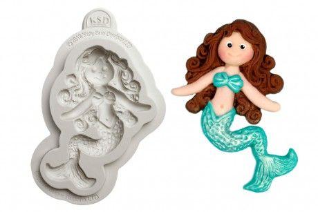 Katy Sue Moulds: Button - Little Mermaid