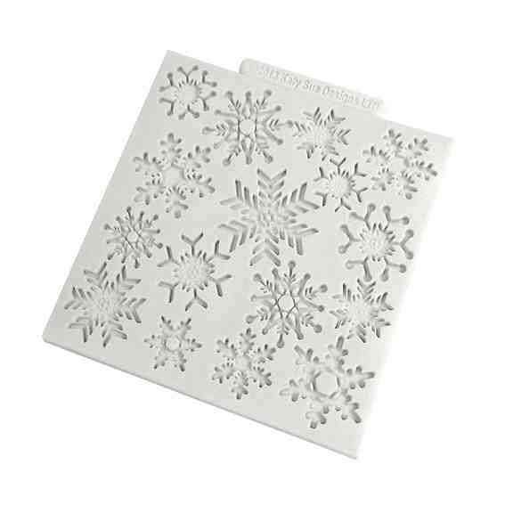 Katy Sue Snowflake Silicone Impression Mat