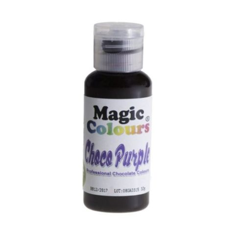 Magic Colours Edible Chocolate Colour - Purple 32g