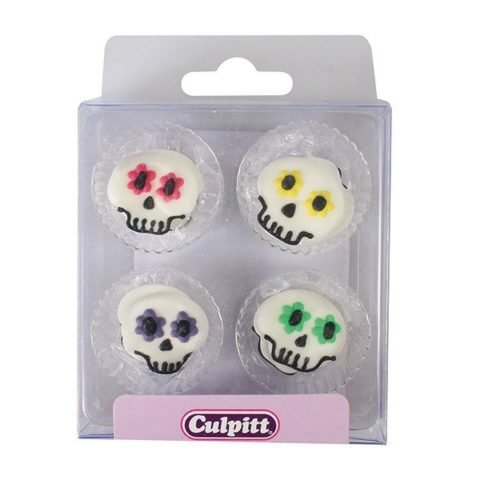 Party Skull Sugar Pipings