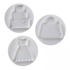Pavoni Plunger Cutter Wedding 3 piece