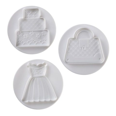 Pavoni Plunger Cutter Wedding 3 piece