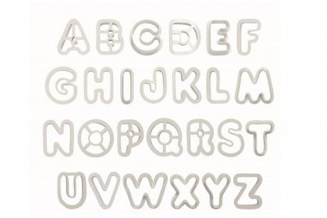 PME Alphabet Cutter -set of 26